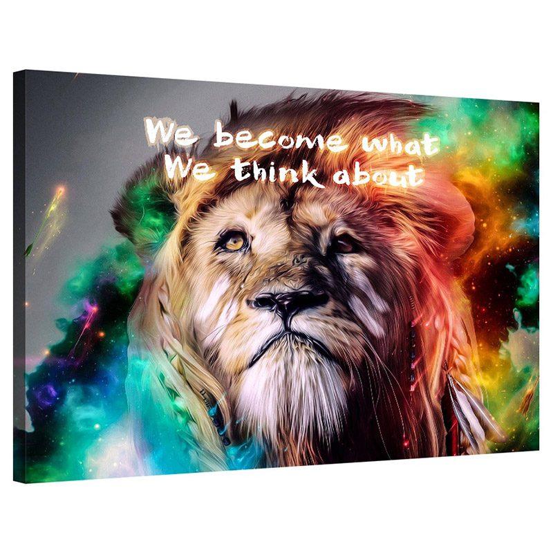 Tablou mesaj inspirational We Become