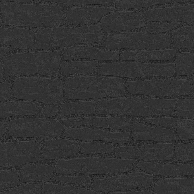 Tapet negru piatra vlies