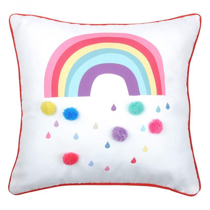 Perna decorativa copii Rainbow