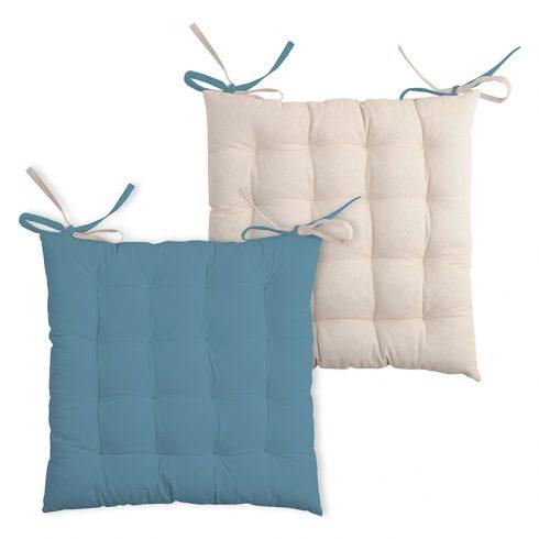 Perna scaun albastra cu doua fete Duo