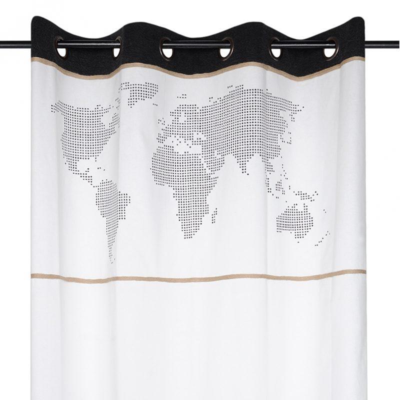 Draperie cu harta lumii Handcraft