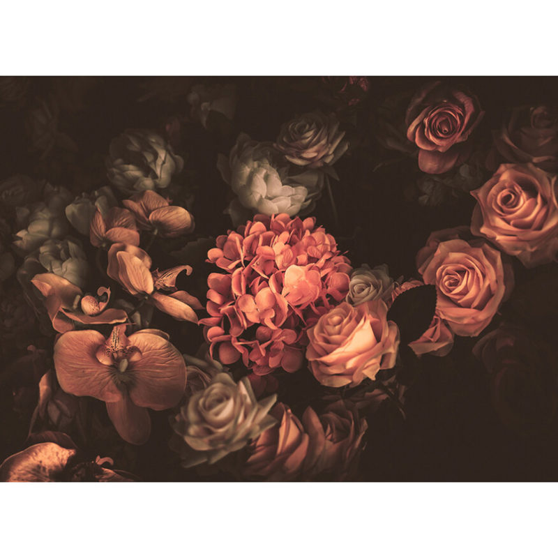 Fototapet vlies decor floral vintage