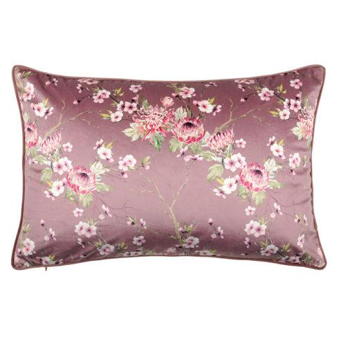 Perna catifea roz floral Boudoir
