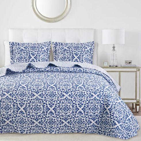 Cuvertura pentru pat model oriental Idara
