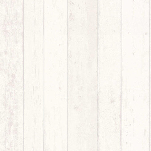 Tapet lemn alb vintage AS Creation