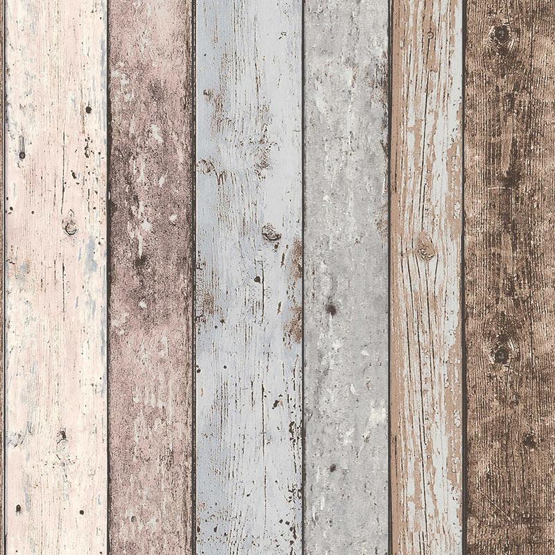 Tapet vlies lemn boho vintage