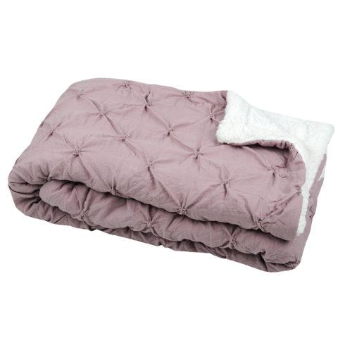 Cuvertura moderna roz pastel Blush