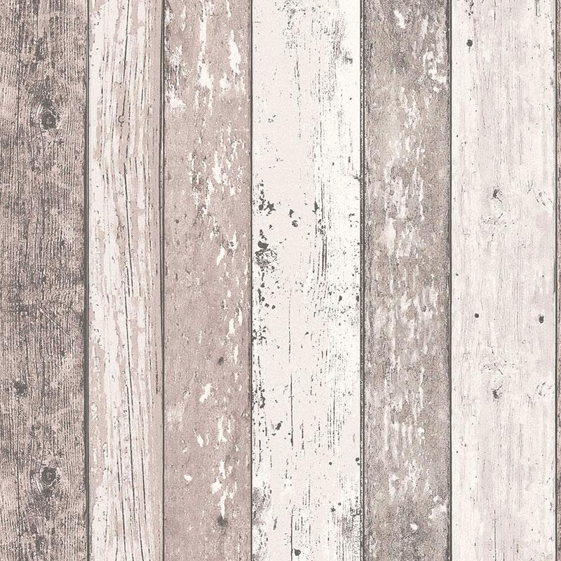 Tapet lemn bej vintage AS Creation