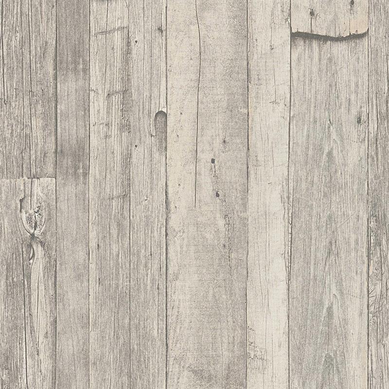 Tapet lemn rustic gri vlies