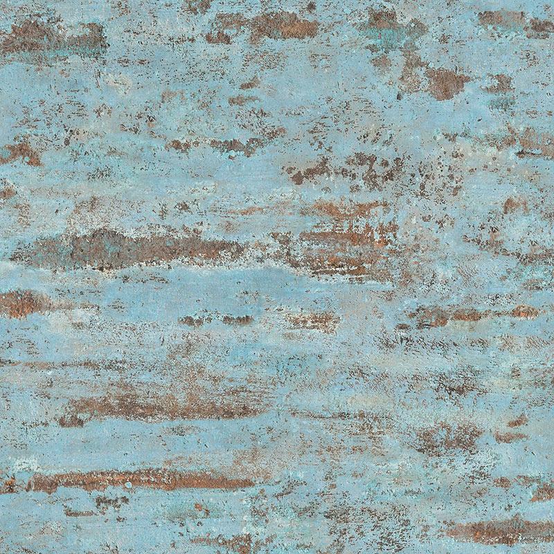 Tapet vintage perete turcoaz