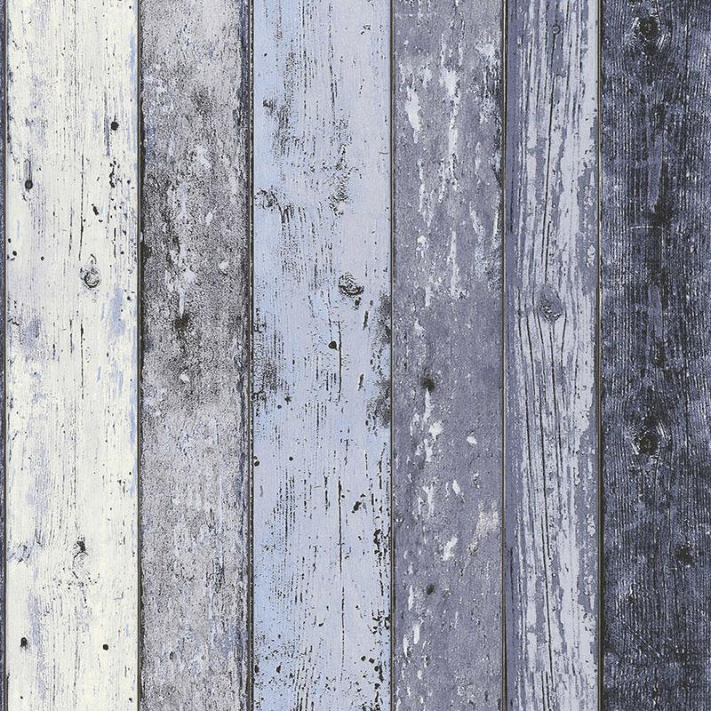 Tapet lemn albastru New England
