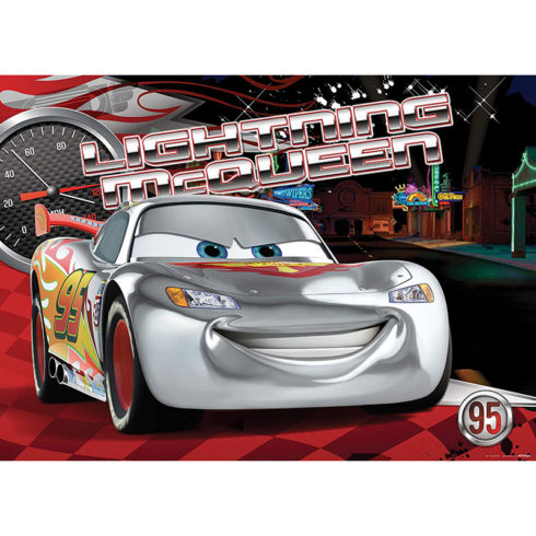 Fototapet Fulger McQueen Silver Edition