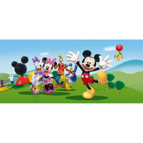 Fototapet Mickey Mouse - O zi insorita