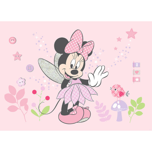 Fototapet camera fetite Minnie Mouse