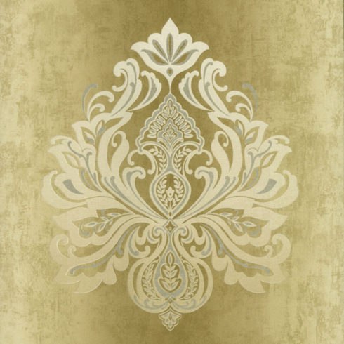 Tapet clasic model baroc silver