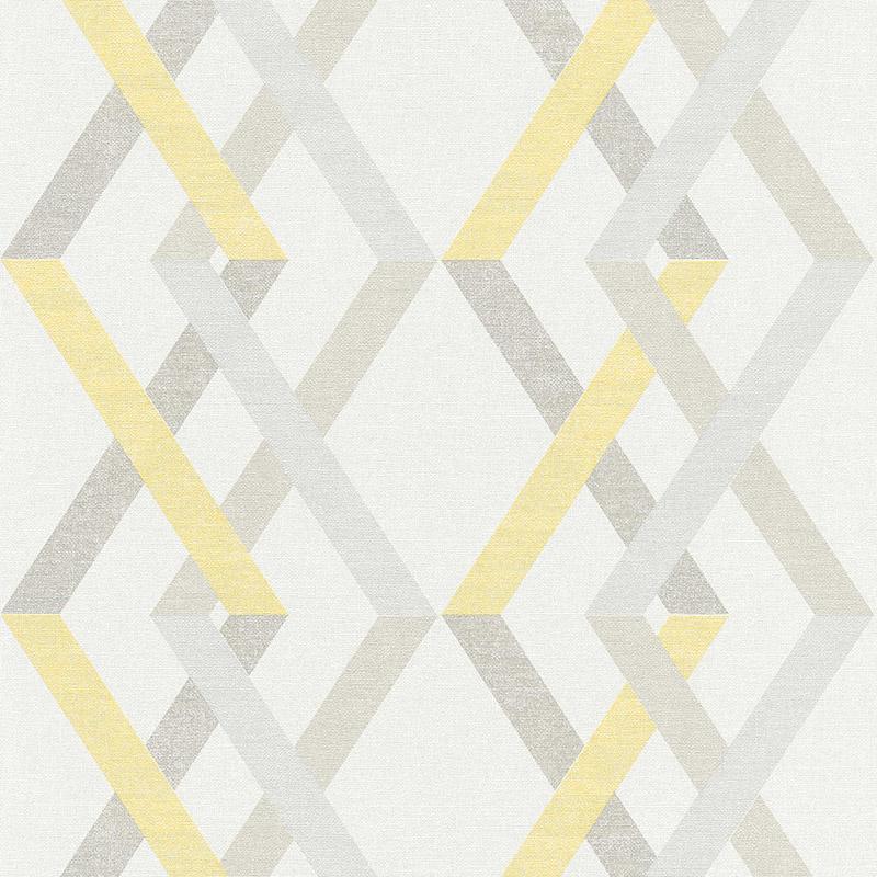 Tapet model geometric romburi scandinave