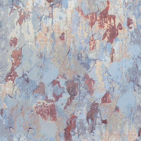 Tapet tencuiala vintage bleu vlies