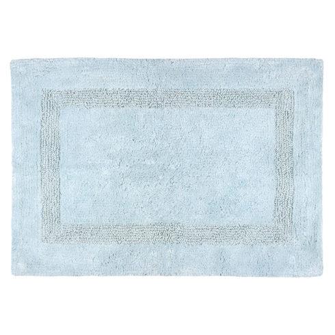 Covoras baie bumbac bleu Softness