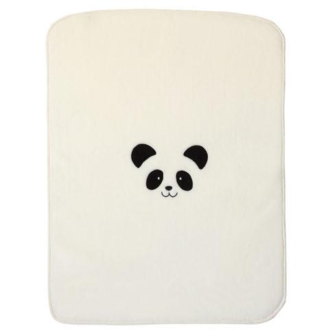 Patura bebelusi crem Panda