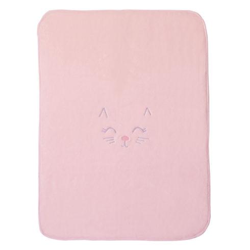 Patura bebelusi roz Kitten